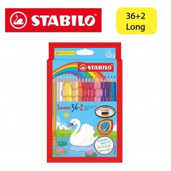 Stabilo Swan Colored Pencil Long 36+2 (1870S/38)