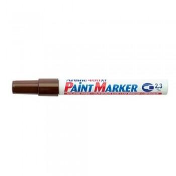 Artline 400XF Paint Marker Pen - 2.3mm Bullet Nib - Chocalate