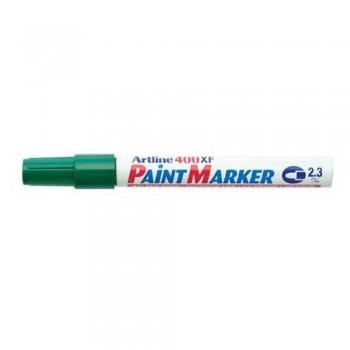 Artline 400XF Paint Marker Pen - 2.3mm Bullet Nib - Green