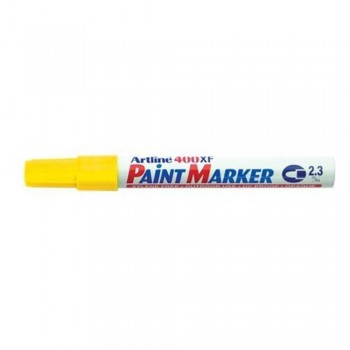 Artline 400XF Paint Marker Pen - 2.3mm Bullet Nib - Yellow