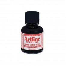 Artline Whiteboard Markers ESK-50A - Refill Ink 20ml - Black