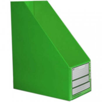 "CBE 06813 5"" PVC Box File (A4) GREEN"