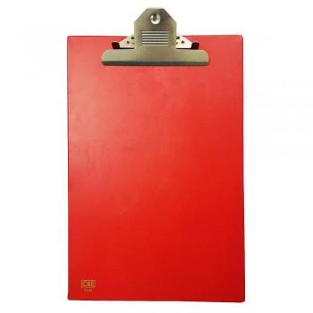 CBE 1496 PVC Jumbo-Clip Board (FC)-red
