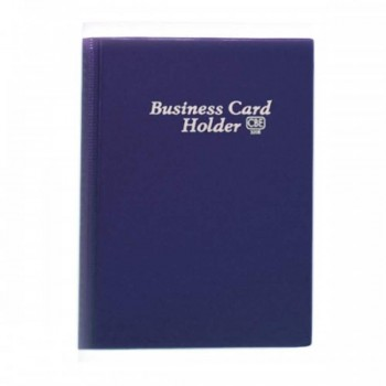 CBE 320E PVC Name Card Holder - Blue
