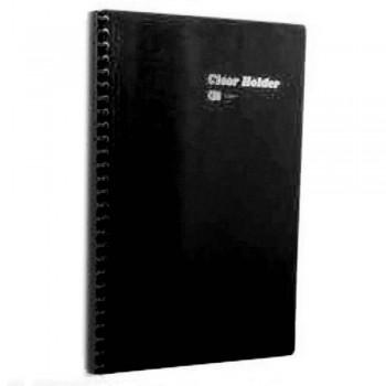 CBE 86030 Refillable PP/Clear Holder (23 holes) Black  (Item No: B10-175) A1R3B161