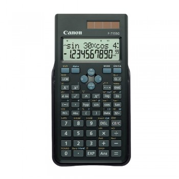 Canon F-715SG-BK Scientific Calculator (Black)