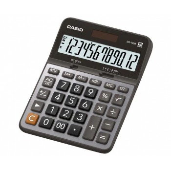 Casio Desktop Calculator - 12 Digits, Metal Faceplate (DX-120B)