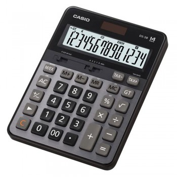 Casio Desktop Calculator - 14 Digits, Heavy Duty Type, Tax Calculation (DS-3B)