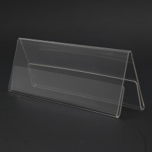 Acrylic A150 Card Stand - 150mm (W) x 55mm (H)