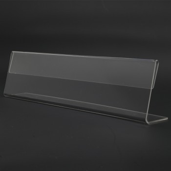 Acrylic T250 Card Stand - 250mm (W) x 70mm (H)