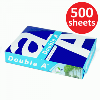 Double A Paper 70gsm - A4 size - 1 ream - 500 sheets