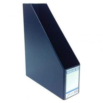 "EAST FILE PVC MAGAZINE BOX 412 5"" BL (Item No: B11-96 BL)"
