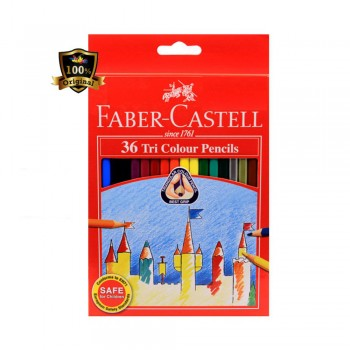 Faber Castell Tri-Grip 36 Colour Pencil (115875)