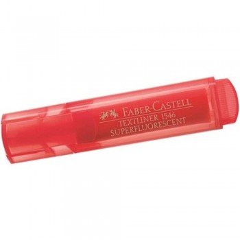 Faber Castell TEXTLINER 1546 Highlighter - RED (Item No: A13-01 FC1546RD) A1R3B54