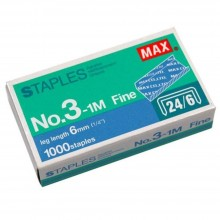 MAX Staples No.3-1M Bullet (Item No: B07-18) A1R2B249