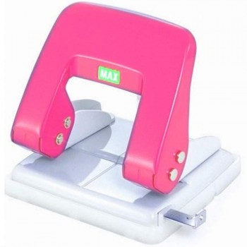 Max Puncher DP-F2DN(1-28sheets),D/PINK (Item No: B07-10PK)