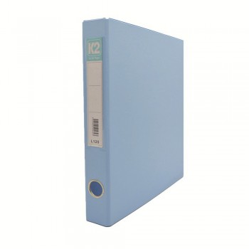 L125 25mm 2D Glue Ring File A4 - Fancy Blue