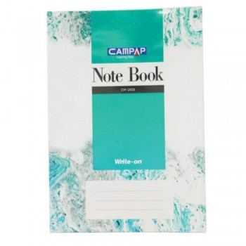 Campap Cw2305 A4 Pvc Cover Note Book 160P (Item No: C02-05) A1R4B119