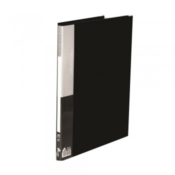 PP A3 Clear Book - Black with 20 pockets