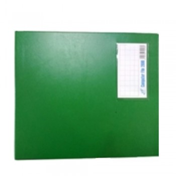PVC COMPUTER FILE A4 -Green (Item No: C01 21 GR)
