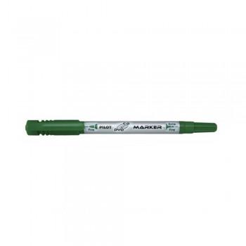 Pilot SCA-TMCD -CD/DVD Marker Pen 2 & 0.8mm - Green