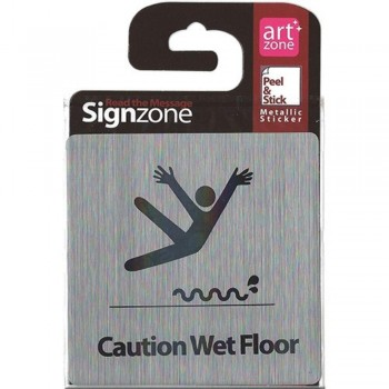 Signzone Peel & Stick Metallic Sticker - C (Item No: R01-42)