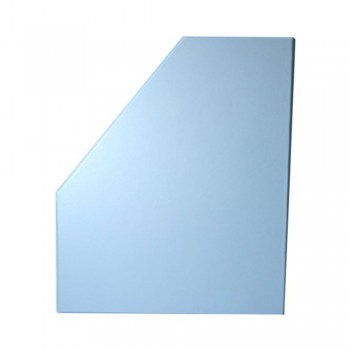 "6"" PVC Magazine Box File - Fancy Blue"