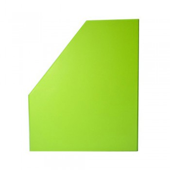 "6"" PVC Magazine Box File - Fancy Green"