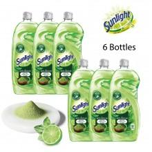 Sunlight Dishwashing Liquid Extra Anti-odour Matcha Green Tea & Lime - 900ml Bundle