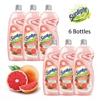 Sunlight Dishwashing Liquid Extra Gentle Grapefruit and Rose Hip - 900ml Bundle