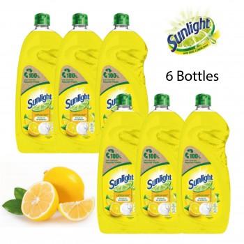 Sunlight Dishwashing Liquid Lemon 100- 900ml Bundle