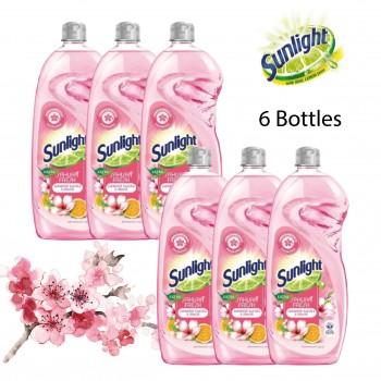 Sunlight Dishwashing Liquid Extra Sakura Fresh - 900ML Bundle