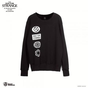 Marvel Dr. Strange: Dr. Strange Sweatshirt Icon - Black, Size L (APL-DS-SS-002)