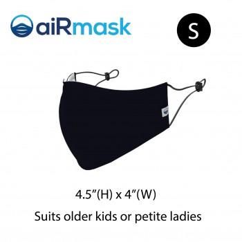 aiRmask Nanotech Cotton Mask Black (S)