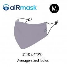aiRmask Nanotech Cotton Mask Grey (M)