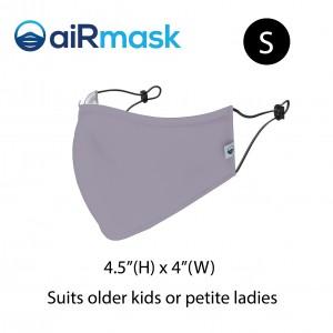 aiRmask Nanotech Cotton Mask Grey (S)