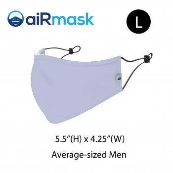 aiRmask Nanotech Cotton Mask Light Blue (L)