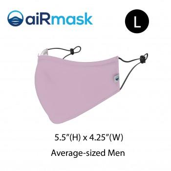 aiRmask Nanotech Cotton Mask Pink (L)