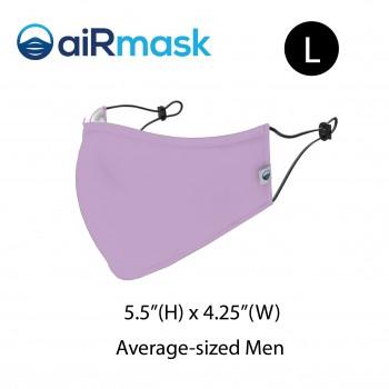 aiRmask Nanotech Cotton Mask Purple (L)