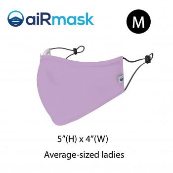 aiRmask Nanotech Cotton Mask Purple (M)