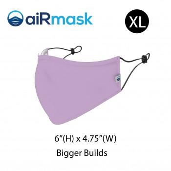 aiRmask Nanotech Cotton Mask Purple (XL)