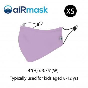 aiRmask Nanotech Cotton Mask Purple (XS)