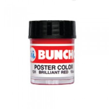 Buncho Poster Color 15CC Poster Color 131 Brilliant Red (1pcs)