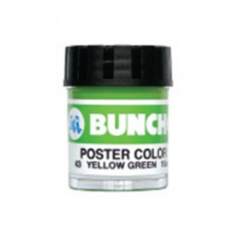 Buncho PC15CC Poster Color 43 Yellow Green (1pcs)