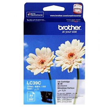 Brother LC-39 Cyan Ink Cartridge