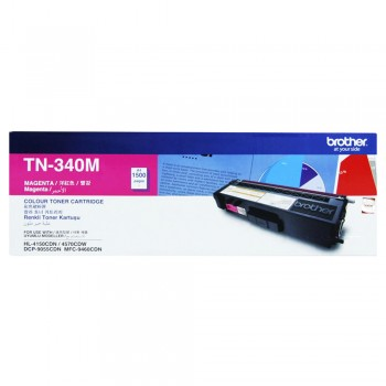 Brother TN-340 Magenta Toner Cartridge 1.5k