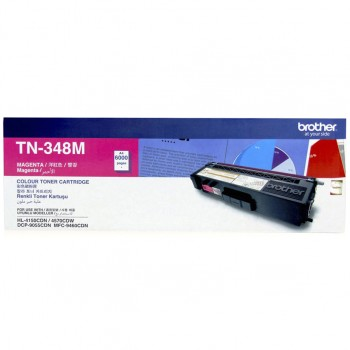 Brother TN-348 Magenta Toner Cartridge 6k