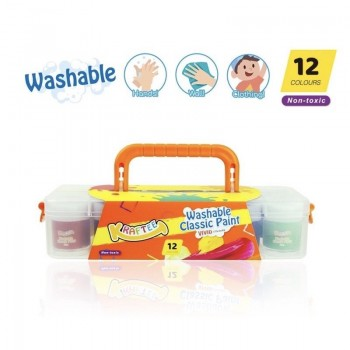 Kraftee 12ct Washable Classic Project Paint