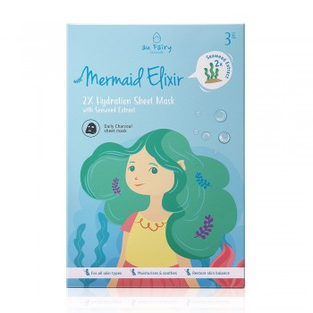 Aufairy Mermaid Elixir Deep Moisturizing Mask - 3 pcs