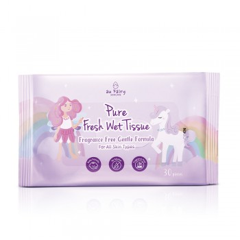 Aufairy Pure Fresh Wet Tissue - Fragrance Free 30s (2 in 1)